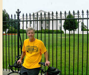 Eric at the White House, July 2009
